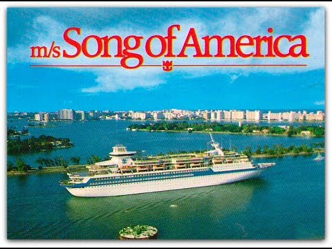 Song of America Cruise Ship 1987