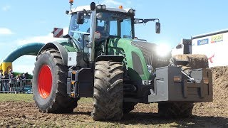 Fendt 936 Vario Going Hard Pulling The Sledge to Edge and Wins The Trophy   Tractor Pulling DK
