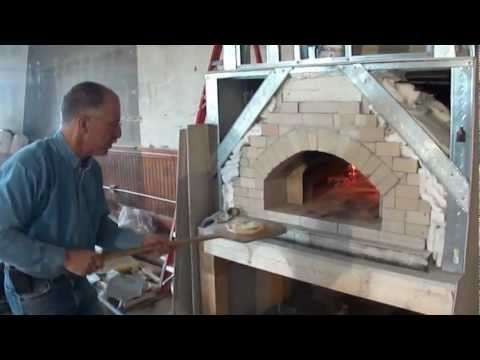 Palian Brick Oven Test with the team of Great Falls Construction.avi