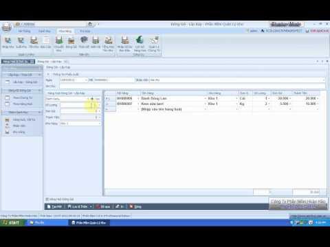 11.Hướng dẫn đóng gói & lắp ráp phần mềm quản lý kho - Perfect Warehouse