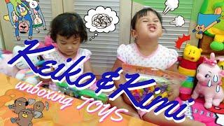 Unboxing LEGO dan mainan masak masakan. #toys #HappyKids