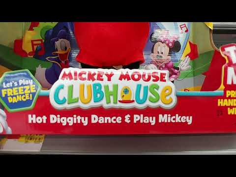Singing, Dancing Mickey At Walmart - 2018