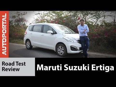 Maruti Suzuki Ertiga Test Drive Review - Autoportal