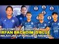 Berita Arema FC! WELCOME! Irfan Bachdim Is Blue, Inilah Line Up Persija vs Arema FC