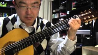 舟木一夫さんが唄っておられた「銭形平次」を、ソロギターに編曲中。 第...