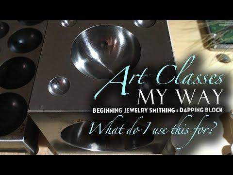 Beginning Jewelry Smithing: Dapping Block