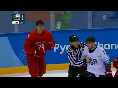 Россия - США Олимпиада 2018 17.02.2018 Обзор матча