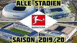 Alle Stadien der Bundesliga 2019/20