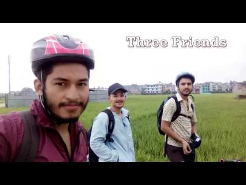 Cycling In Nepal From Changunarayan to Nagarkot.