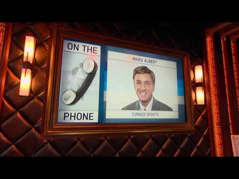 Marv Albert  of NBA on TBS Weighs in on New York Knicks Issues - 10/24/16