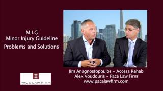 Toronto Personal Injury Lawyers - Minor Injury Guideline