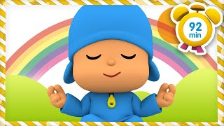 🙅♂️ POCOYO in ENGLISH - Meditation and relax [92 min]  Full Episodes   VIDEOS and CARTOONS for KIDS