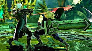 Soul Calibur 6 - Cloud vs Sephiroth Gameplay (1080p 60fps)