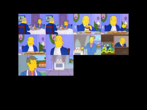 """Steamed Hams 10 times, sync point when Chalmers says """"Aurora Borealis"""""""
