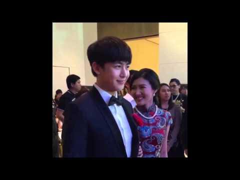151126 Nichkhun & Guo Rui (Weibo Thailand) @ Thailand Headlines Person of The Year Award 2015