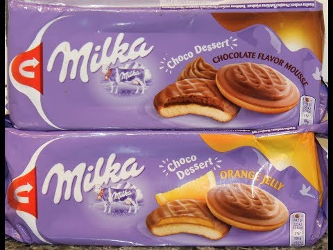 Milka Choco Dessert: Chocolate Flavor Mousse & Orange Jelly Review
