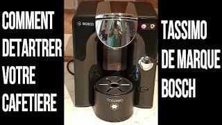 Detartrage Cafetiere Tassimo De Marque Bosch Youtube