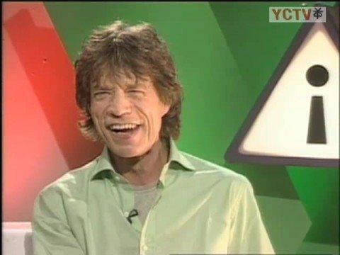 Mick Jagger Interview part 1