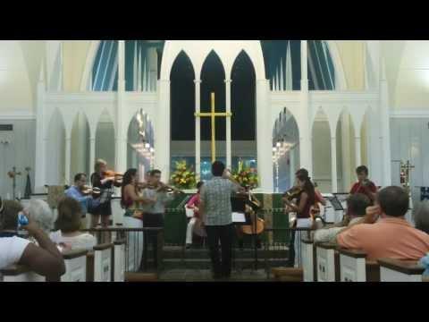 Vivaldi  Sinfonia Avanti for strings in C RV 658 -Allegro