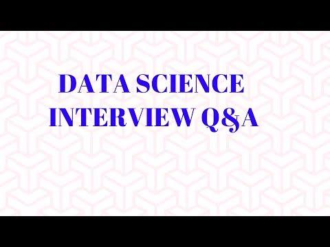 9 Data Science Interview Q&A | Analytics Interview