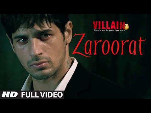 Zaroorat Full  Song  Ek Villain  Mithoon  Mustafa Zahid