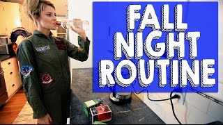 FALL NIGHT ROUTINE // Grace Helbig