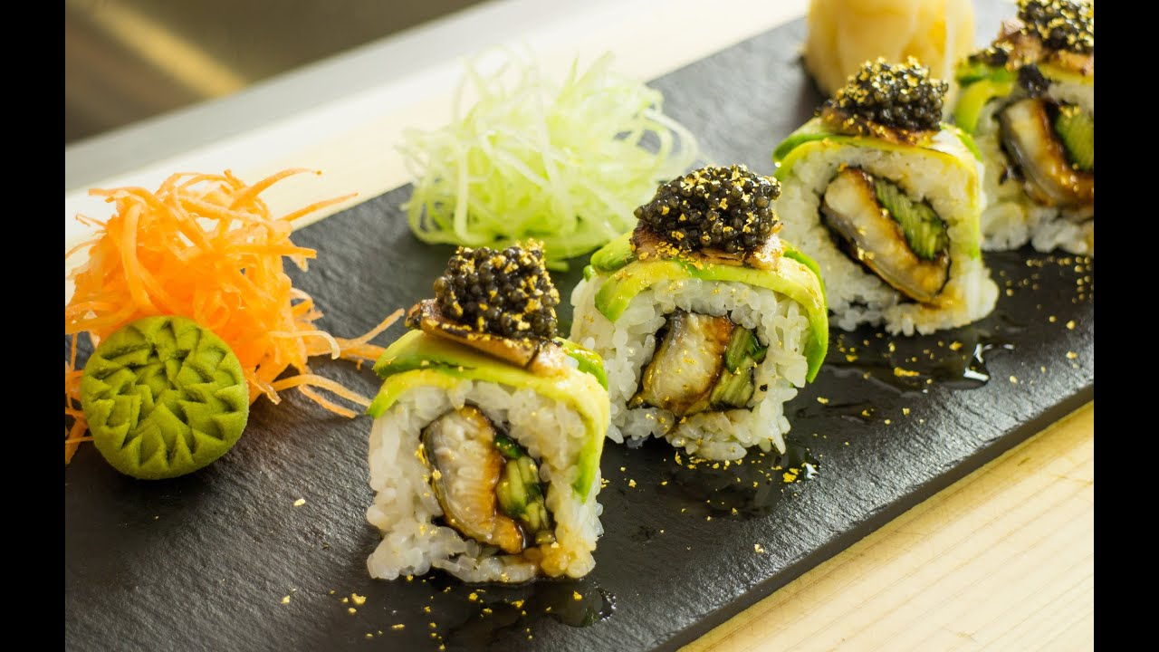 Millionaire sushi roll video recipe youtube millionaire sushi roll video recipe forumfinder Image collections