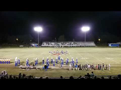 Halftime show featuring the Viking Elite 11-02-18-Vidalia High School Marching Band.