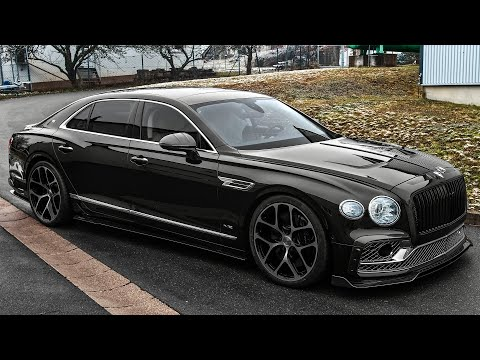 2021 Bentley Flying Spur W12 – Angry Luxury Sedan from MANSORY!