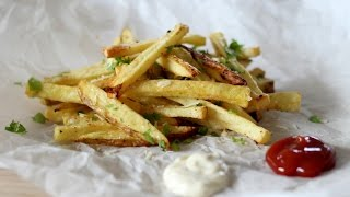 Garlic Parmesan Oven Fries Recipe