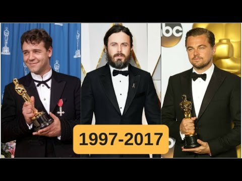 Oscar-winning best actors 1997-2017