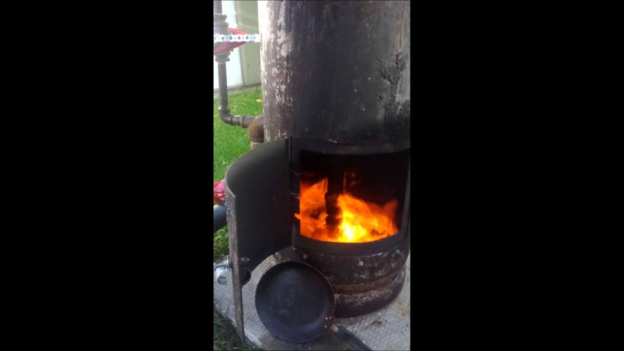 Waste Oil Burner Furnace Youtube