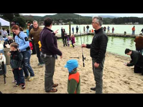 Devils Lake Family Fishing Event-Lincoln City. Oregon