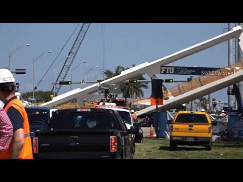 Pont effondré à Miami: le bilan monte à 6 morts (police)