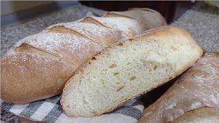 Домашний хлеб БАГЕТ Очень вкусный домашний хлеб простой рецепт теста