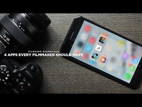 4 Apps EVERY Filmmaker Should HAVE!