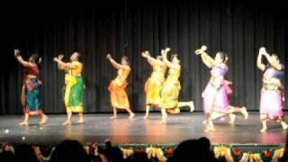 Atlanta Tamil Sangam Pongal - Folk dance 2010 (Thottu kadai orathile)