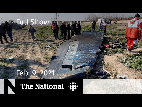 CBC News: The National   Secret Recording About What Maybe Happened To Flight 752   Feb. 9, 2021