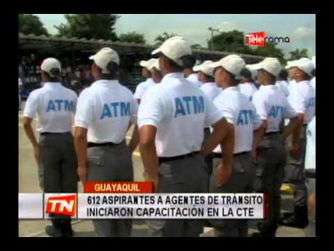 612 aspirantes a agentes de tránsito iniciaron capacitación  en la CTE