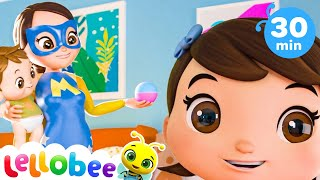 Super Mom | Baby Songs | Nursery Rhymes & Kids Songs | Little Baby Bum | Car