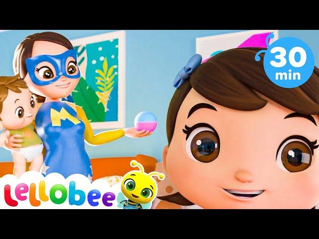 Super Mom   Baby Songs   Nursery Rhymes & Kids Songs   Little Baby Bum   Cartoons For Kids