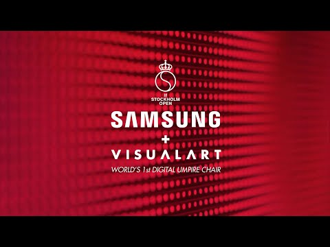 [Case Study] Samsung with Visual Art : THE DIGITAL UMPIRE CHAIR