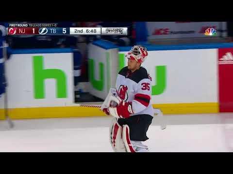 New Jersey Devils vs Tampa Bay Lightning - April 14, 2018 | Game Highlights | NHL 2017/18