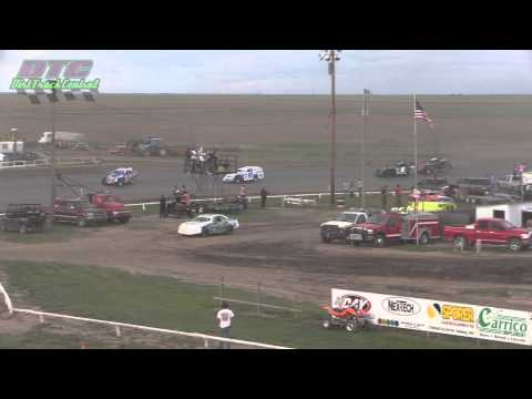 IMCA Modified A Feature Makeup Wakeeney Speedway 5-24-15