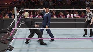 WWE 2k19 Barack Obama Vs. Donald Trump (CPU vs. CPU)