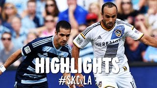 HIGHLIGHTS: Sporting Kansas City vs LA Galaxy | July 19, 2014
