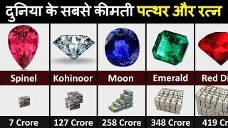 Most EXPENSIVE gemstones off All Time | दुनिया के सबसे मंहगे पत्थर (जेमस्टोन्स)