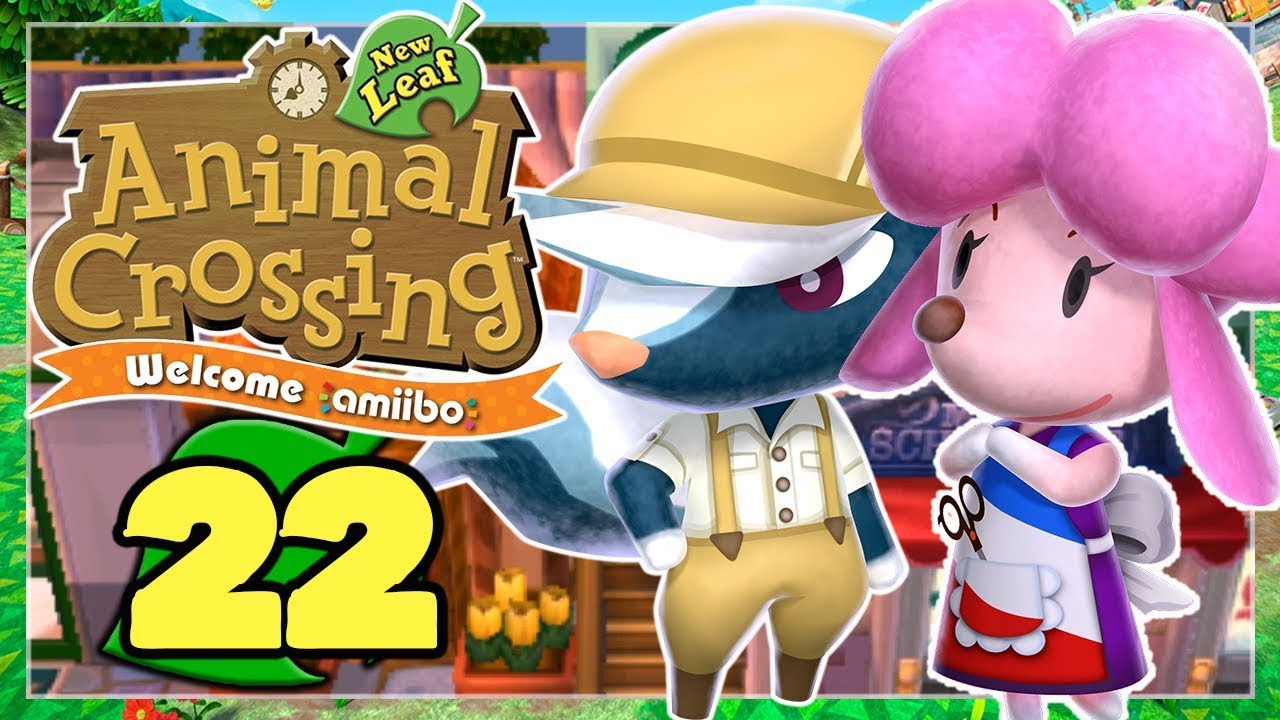 Aushilfsjob Neue Schuhe Frisur Animal Crossing New Leaf 22