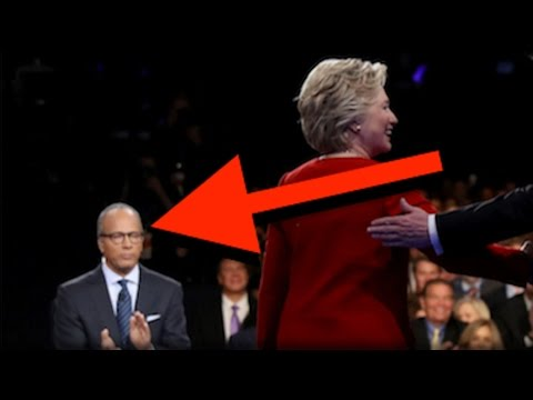 Thumbnail: TRUMP WAS RIGHT! WHAT LESTER HOLT HAD IN HIS EAR PROVED HILLARY RIGGED THE DEBATE