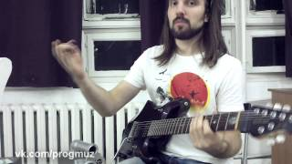 видео Как играть Искусственный флажолет на гитаре